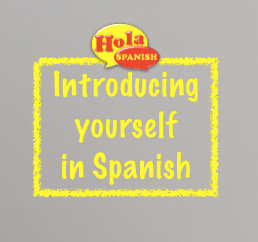 How do you say to meet someone in spanish
