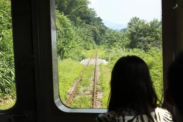 De viaje por la línea Jiji (集集線)