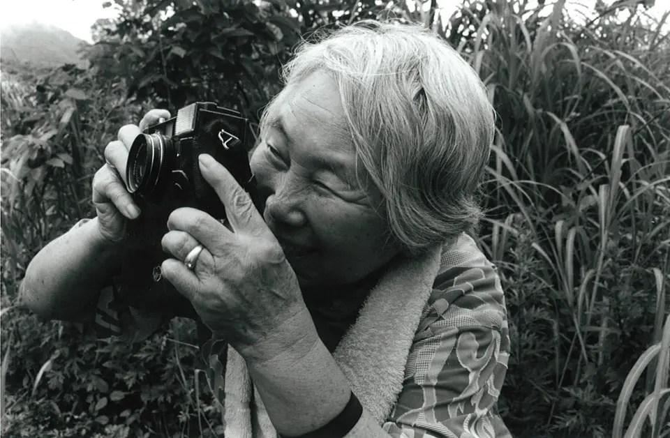 La abuelita fotógrafa