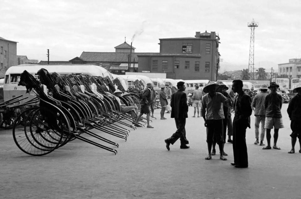 Un vistazo a Taipei en los años 50