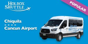 Chiquila-Cancun Airport
