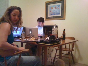 Jennifer Griffin and Adam Arney
