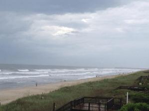 Hurricane Arthur at Holden Beach