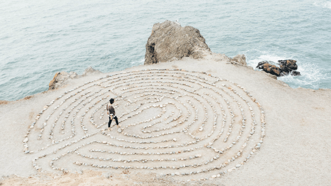 Art of Teaching labyrinth