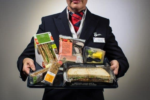 British Airways Ditches Free Meals on Short Haul Flights