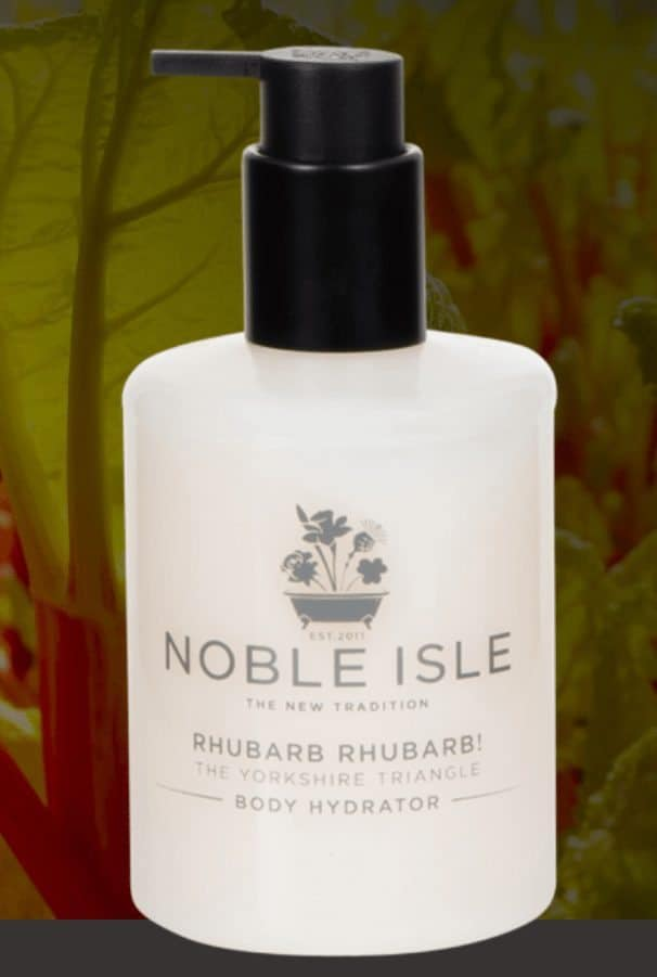 Beauty Review: Noble Isle Rhubarb Rhubarb, Body Hydrator