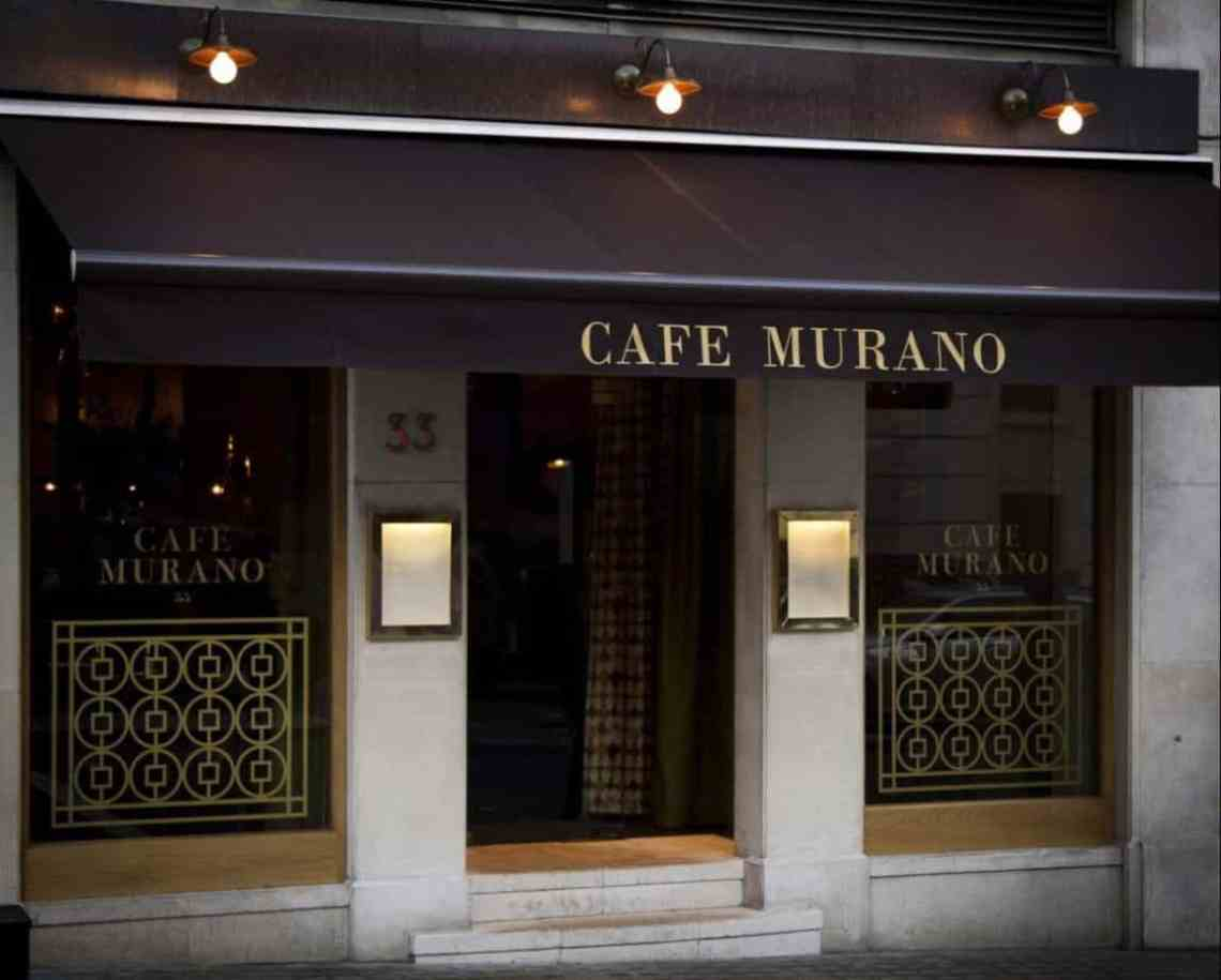 Review: Cafe Murano, St James's