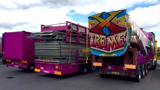 Xtreme loads making their way to the UK. Photo by S&D Leisure.