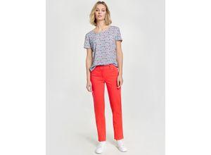 5-Pocket Hose - Best4me Kurzgröße Rot-Orange Damen