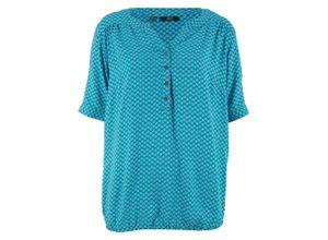 Bluse, Halbarm in blau für Damen von bonprix