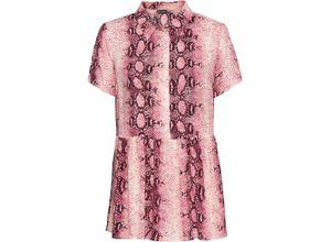 Bluse kurzer Arm in rosa für Damen von bonprix