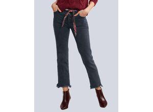 Damen Jeans OUI Dark blue