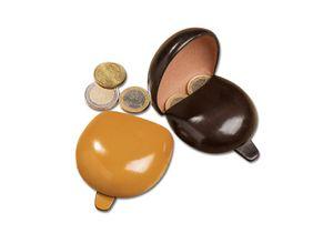Il Bussetto Coin Case und Portemonnaie, Safran - Coin Case