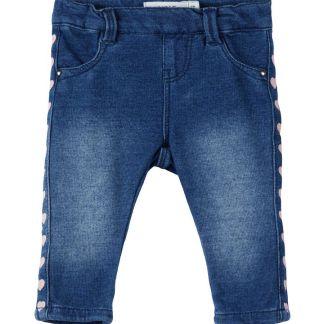 NAME IT Herzprint Jeans Leggings Damen Blau