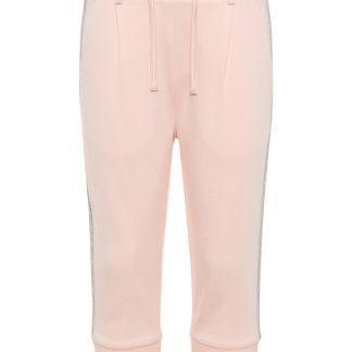 NAME IT Seitenstreifen Capri Hose Damen Pink