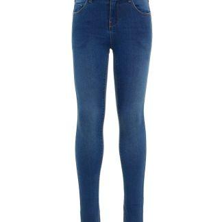 NAME IT Superweiche Skinny Fit Jeans Damen Blau