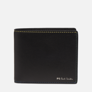 SALE -30 PS Paul Smith - BILLFOLD STITCH - SALE Portemonnaies & Clutches / schwarz