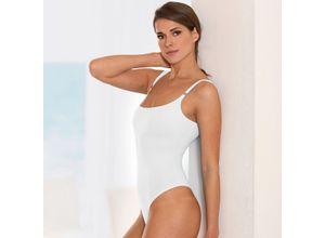 Shelf-Bra-Wäsche, 36 - Weiß - Body, aus Polyamid