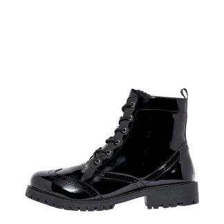 VERO MODA Sturdy Lace Up Ankle Boots Damen Schwarz