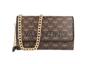 Valentino By Mario Valentino Clutch Tasche braun