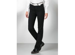 Walbusch Damen Jeans Bestform Regular Fit einfarbig Black