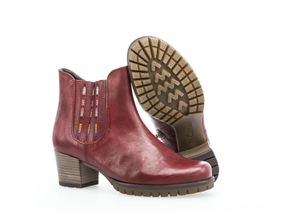 Gabor Lady Chelsea Boots rot, Gr. 5,5 - Damen Boots