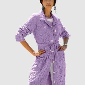 Mantel AMY VERMONT Lavendel