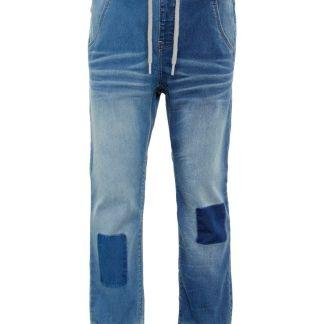 NAME IT Baggy Fit Super-stretch Pull-on Jeans Herren Blau