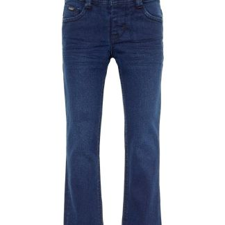 NAME IT Bio-baumwoll Regular Fit Jeans Herren Blau