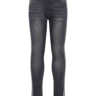 NAME IT Skinny Fit Jeans Herren Grau