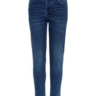NAME IT Superweiche Cropped Slim Fit Jeans Herren Blau