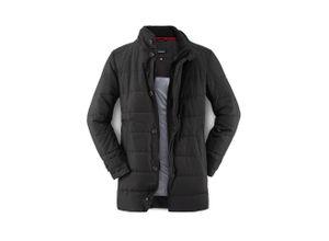 Walbusch Herren Stepp-Mantel Thinsulate Schwarz einfarbig wärmend