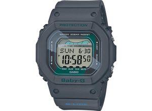 CASIO Damenuhr Casio Damen-Uhren Digital Quarz, grau, EAN: 4549526222504