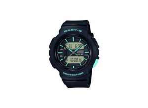 Casio Damen-Uhren Analog, digital Quarz, schwarz, EAN: 4549526180514