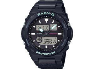 Casio Damen-Uhren Analog, digital Quarz, schwarz, EAN: 4549526219603