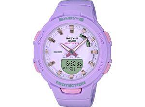 Casio Damen-Uhren Analog, digital Quarz, violett, EAN: 4549526203589