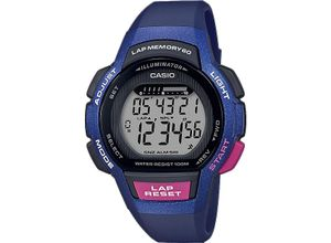Casio Damen-Uhren Digital Quarz, blau, EAN: 4549526214059