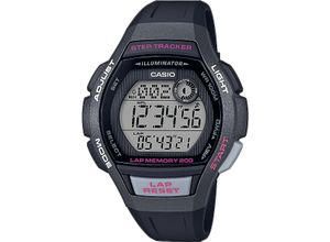 Casio Damen-Uhren Digital Quarz, grau, EAN: 4549526214134