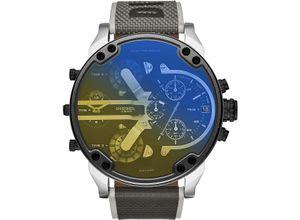 DIESEL Damenuhr Diesel Damen-Uhren Quarz, schwarz, EAN: 4013496597813