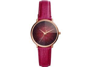 FOSSIL Damenuhr Fossil Damen-Uhren Quarz, rot, EAN: 4013496833454