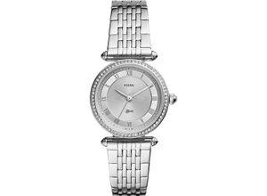 FOSSIL Damenuhr Fossil Damen-Uhren Quarz, silber, EAN: 4013496797831