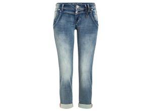 Timezone Slim NaliTZ aqua blue wash, Gr. 29 - Damen Jeans