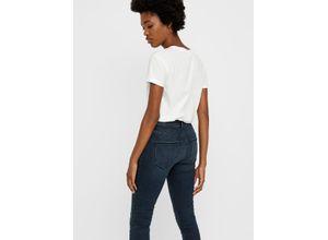 Vero Moda Jeans dark blue denim, Gr. XS/30 - Damen Jeans