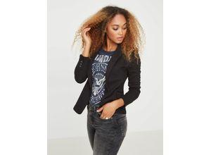 Vero Moda Jersey Blazer schwarz, Gr. 42 - Damen Blazer