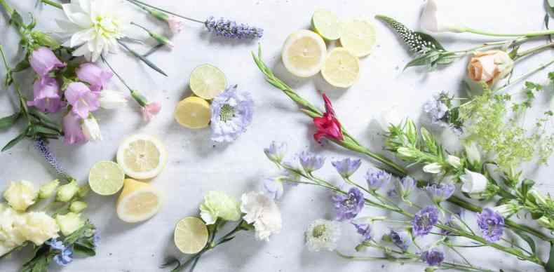 Design Style: Sweet Romance with Citrus Fruits