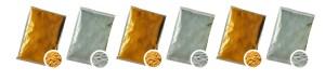 buy gold silver glitter shine holi powder