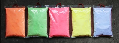 UV Neon Fluor Holi Color Powder bulk