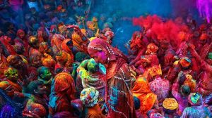 Holi Festival Colors India
