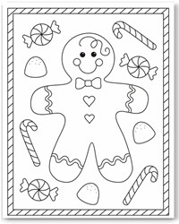 free printable holiday coloring pages # 12