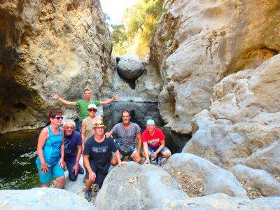 Gorge walk on Crete (1)